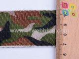 Sangle militaire en nylon de camouflage avec l'impression pour la courroie militaire