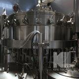 Bebida carbonatada serie 3 en 1 máquina de rellenar de la bebida de alcohol