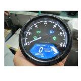 Одометр тахометра спидометра Mph/Kmh LCD цифров для мотоцикла