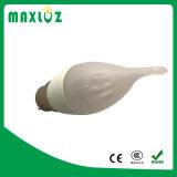 Tipo directo bulbo de la vela de la fábrica F37 C37 3W 4W de China del LED
