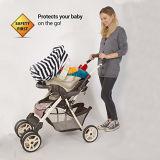 Pabellón elástico de la cubierta de asiento de coche del oficio de enfermera del bebé de los accesorios del coche de bebé