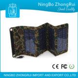 電話またはカメラのためのFoldable太陽電池パネルバックアップ電池の携帯電話の充電器が付いている太陽エネルギーバンク