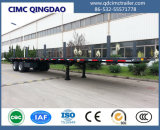 Cimc 40ft 3 Fuwa/МФЖПЖС моста трактора планшет тяжелый грузовик полу Utility грузового прицепа