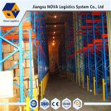 Heavy Duty par le biais d'entraînement de l'entrepôt de stockage de palettes rayonnage