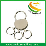 Hot-Selling Personality Multiple Ring Metal Keychain