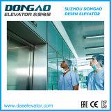 Gearless 에너지 절약 작은 기계 룸 전송자 병원 엘리베이터