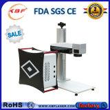 Macchina portatile della marcatura del laser della fibra per l'ABS