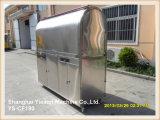 Ys-CF190 Café en acier inoxydable 304 Panier Kiosque alimentaire