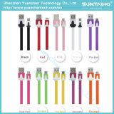 Colorido cable USB de carga rápida para teléfonos Android de Samsung
