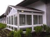Het aangepaste Aangemaakte Glas Aluminium Geprefabriceerde Sunroom van de Hoogste Kwaliteit van de Stijl