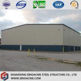 Structure légère en acier préfabriqués Sinoacme hangar de l'atelier