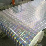 Sellado caliente de la transferencia de la impresión de la película olográfica de la hoja para el papel