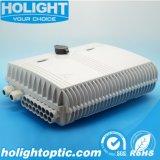 Коробка прекращения кабеля оптического волокна 16 портов напольная
