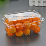 Freie Blase, die für Kirschtomate u. -orangen verpackt