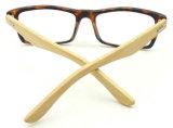 R17929 Hotsale Barato preço qualidade Templo de bambu óculos de leitura