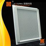 Потолочные Воздуховод гибкий квадратной решетки Eggcrate белого цвета