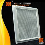 Decken-Luftkanal flexible quadratische weiße Eggcrate Gitter