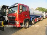 Caminhão-tanque de óleo HOWO T5g 8X4, petroleiro para venda