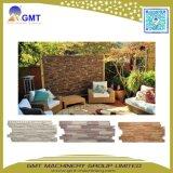 Cadena de producción decorativa del panel de apartadero del ladrillo del PVC de la pared de piedra del modelo