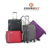 Chubontの新しく熱い販売法3PCSは柔らかい旅行Trolleycaseをセットした