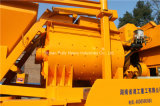 Pully Manufacture New Condition Pompe à béton à béton à béton à béton mobile avec mélangeur pour construction de tunnel de village, route, pont (JBC40-L1)