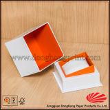 La última rectángulo de reloj de papel impreso de la manera del diseño insignia elegante