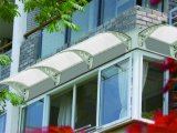 Prix ​​d'usine 5.2mm Hollow PC Polycarbonate Awning Shading