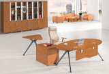 Modern Metal Wood Furniture Bureau d'ordinateur portable exécutif
