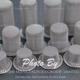 Filtro feito-à-medida do Wire-Cloth dos filtros do círculo/disco engranzamento do aço inoxidável (304 ou 316), Electropolished