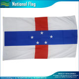 Países Baixos Gelderland/Brabante do Norte/Overijssel/Zeeland/South-Holland Bandeira (J-NF05F09225)