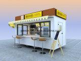 Yieson gebruikte de Mobiele Vrachtwagens van het Voedsel voor Verkoop in China met Ce