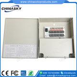 Bloc d'alimentation de systèmes de sécurité de télévision en circuit fermé de C.C 12V 5A (12VDC5A9PN)