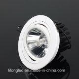Iluminação ajustável 35W Downlight de Shenzhen da ESPIGA do diodo emissor de luz 30W do profissional