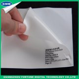 Material Eco Solvente White Static Cling Film