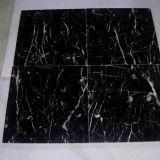 Marquinaの黒いタイル、黒い大理石、中国の大理石のタイル