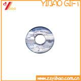 Regalo plateado latón de encargo de la moneda de la antigüedad de la insignia (YB-HD-90)