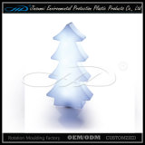 PE Matériau Plastique Couleur Modifiable LED Lumière d'arbre de Noël LED