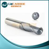 Molino rentable y de la alta calidad 2 de la flauta de tungsteno del acero de extremo