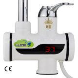 Colpetto di acqua istante elettrico del rubinetto del riscaldamento con l'indicatore di temperatura
