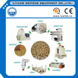 La alimentación animal Pellet Línea de producción/Línea de producción de pellets de alimentación de aves de corral.