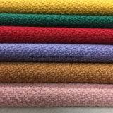 La nieve labra la tela lista de Greige de la tela de las lanas