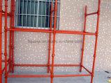 Construcción de la alta calidad del acero Cuplock Andamio