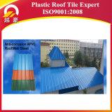 telha de telhado plástica de 1130mm/material de telhadura à prova de fogo para a folha da telhadura