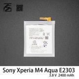 batterie initiale Agpb014-A001 du téléphone mobile 2400mAh pour l'Aqua E2303 de Sony Xperia M4