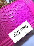 Sac d'épaule simple de marque d'usine de mode de femme de sac de rue de type de pistes de piste de sac en cuir de tendance de Tout-Allumette de femme de chaîne en gros de bloc supérieur