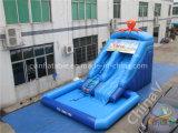 Trasparenza di acqua gonfiabile di piccolo tema della sirena per i bambini