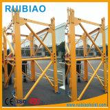Aufbau-Maschinerie-Turmkran (TC5013) mit Maximallast 6 Tonnen