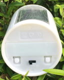 気分軽い夜ライト装飾的で軽い太陽庭ライト軽いセンサーが付いている太陽蝋燭ライト
