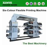 Machine d'impression flexible de Six-Couleur (YT-6800)