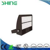 120W LED 벽 팩 Wallpack 정착물 빛 램프 상업적인 옥외 UL Dlc IP67
